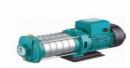 Bơm nước đa tầng cánh trục ngang đầu inox EDHM 2-20