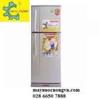 Tủ lạnh Sanyo 2 cửa SR-S185PN(SN) 180 lít