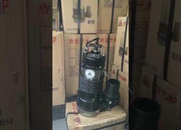 MÁY BƠM CHÌM HÚT NƯỚC THẢI LƯU LƯỢNG LỚN HÃNG NTP TAIWAN 5HP HSM280-13.7 205