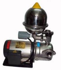 Máy bơm phun tăng áp vỏ nhôm đầu inox LJA225-1.37 265T ( Có rờ le nhiệt)