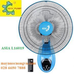 Quạt treo tường Asia L16019 ( Có Remote)
