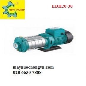 Máy bơm nước đẩy cao trục ngang đầu inox LEPONO EDH 20 - 30